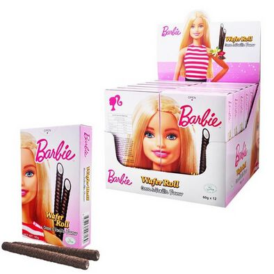 Barbie Nestle Wafer Roll 1 Pieces