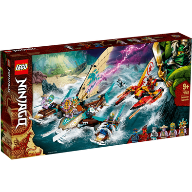 LEGO Ninjago Catamaran Sea Battle 71748