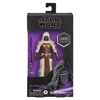 Star Wars The Black Series Gaming Greats Jedi Knight Revan Toy Figure