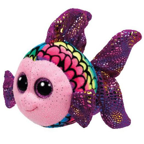 Ty Beanie Boos 6 Inch Flippy The Multicolored Fish