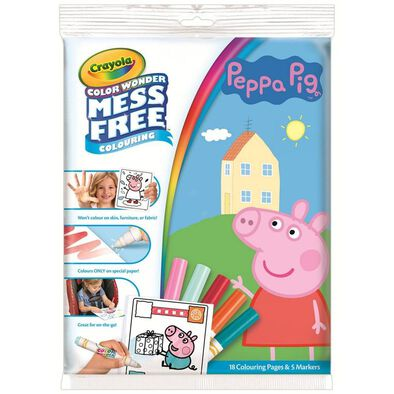 Crayola Color Wonder Peppa Pig Overwrap