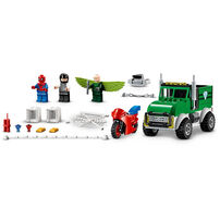 LEGO Marvel Spider-Man Vulture's Trucker Robbery 76147