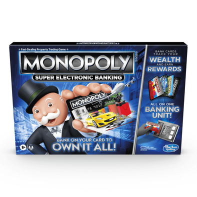Monopoly Super Electronic Banking Board Game