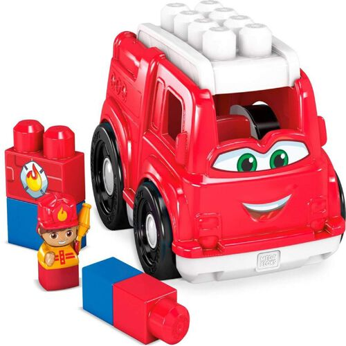 Mega Bloks First Builders Freddy Firetruck