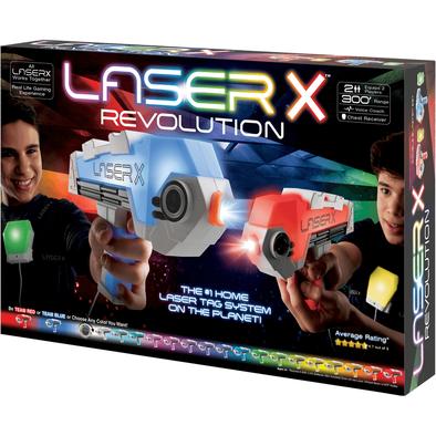 Laser X Revolution Double Blaster Set