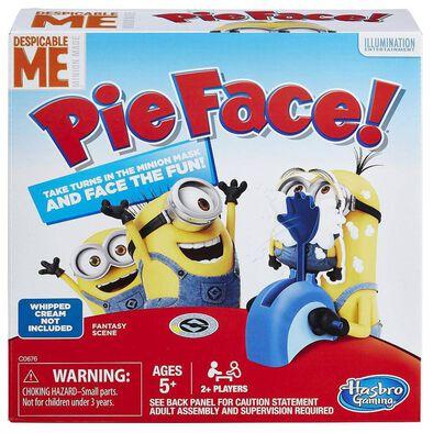 Despicable Me Minions Pie Face