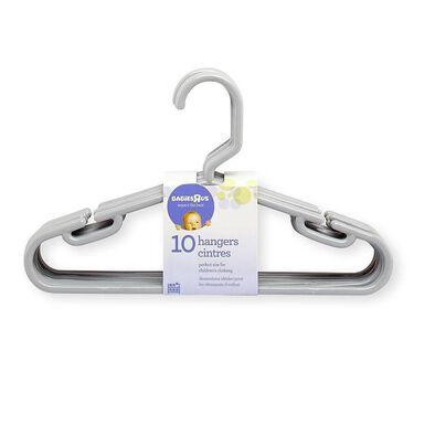 "Babies""R""Us 10 Pack Hangers Gray"