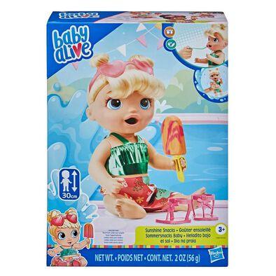 Baby Alive Sunshine Snacks Doll
