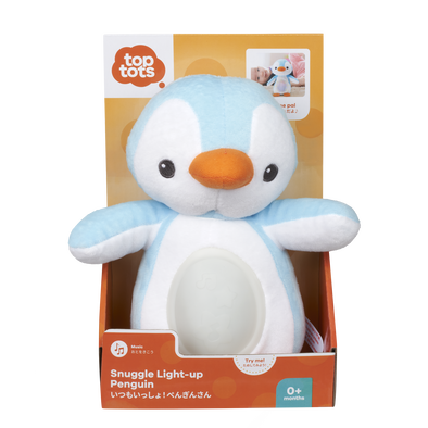 Top Tots Snuggle Light-Up Penguin
