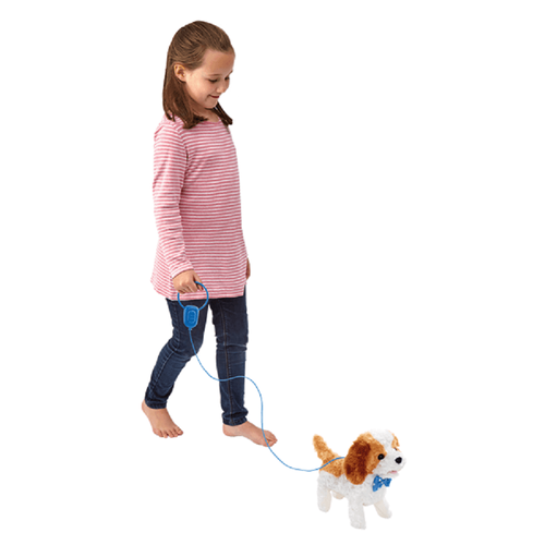 Pitter Patter Pets Walk Along Puppy Brown And White