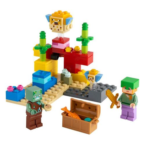 LEGO Minecraft The Coral Reef 21164