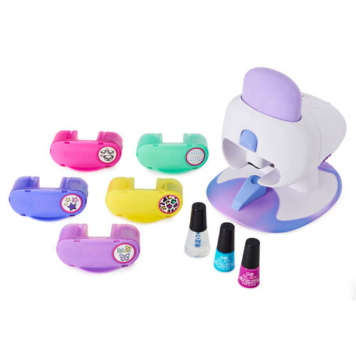 Cool Maker Go Glam Deluxe 2 In 1 Nail Stamper