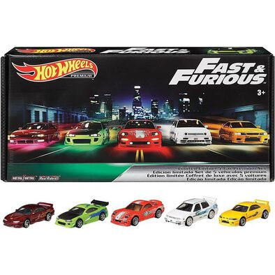Hot Wheels Fast & Furious Premium Bundle