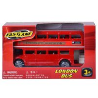 Fast Lane 3.5 Inches London Bus - Assorted