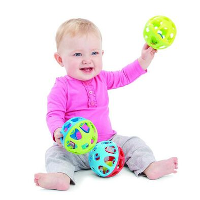 BRU Rattle and Roll Ball - Assorted