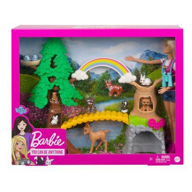 Barbie Wilderness Guide Interactive Playset