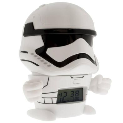 Bulbbotz Star Wars 5 Inch Night Light Alarm Clock Stormtrooper