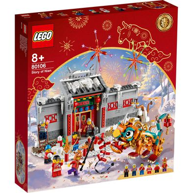LEGO Chinese Festivals Story Of Nian 80106