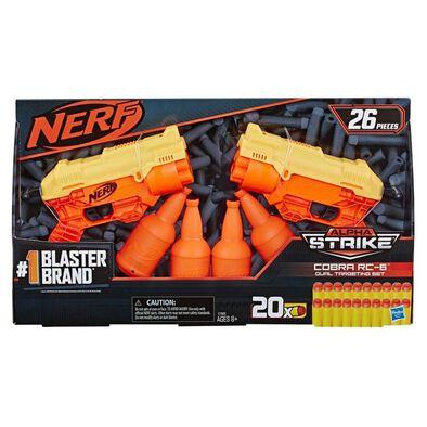 NERF Alpha Strike 26-Piece Cobra RC-6 Dual Targeting Set