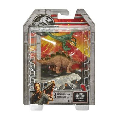 Jurassic World Mini Action Dinos! 3Pack - Assorted