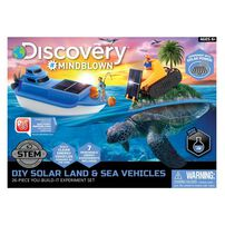 Discovery Mindblown Solar Land and Sea Rover