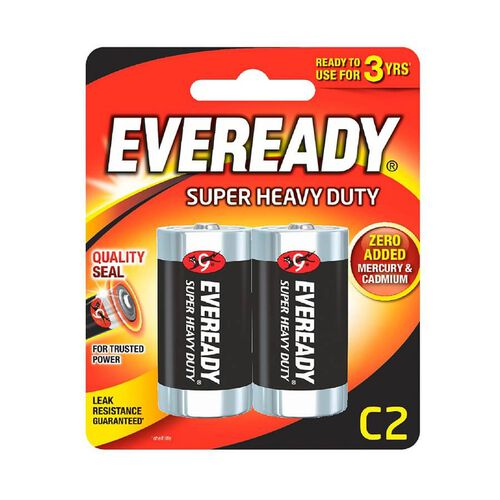 Eveready Super Heavy Duty Size C2