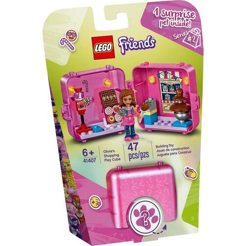 LEGO Friends Olivia's Shopping Play Cube 41407