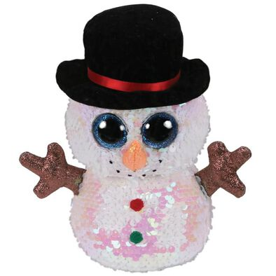 Ty Flippables 6 Inch Melty Snowman
