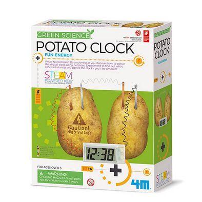 4M Green Science Potato Clock
