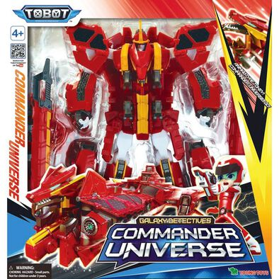 Tobot Galaxy Detectives Commander Universe