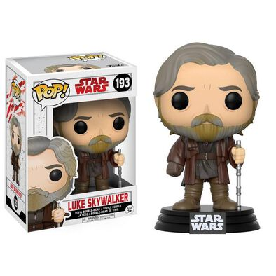 Pop! Star Wars Vinyl Bobble-Head 193 Luke Skywalker