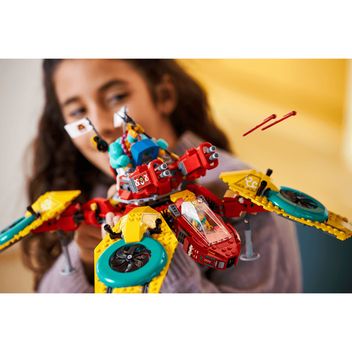 LEGO Monkie Kid's Team Dronecopter 80023