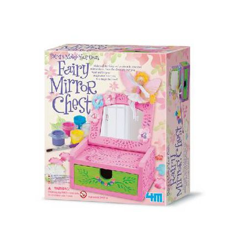 4M Paint Your Own Fairy Mirror Chest