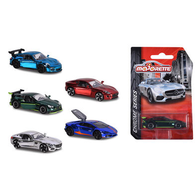 Majorette Chrome Series Car - Assorted