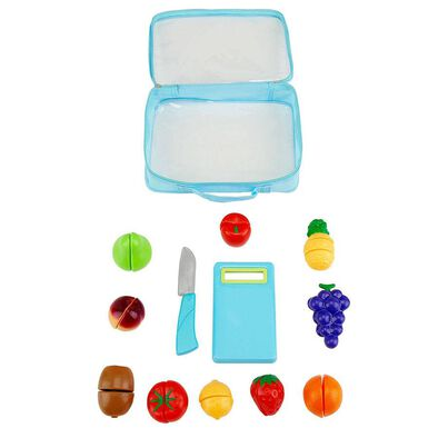Just Like Home Velcro Fruits And Veggies In Bag