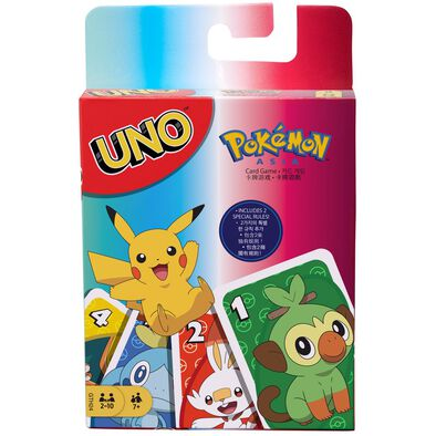 Uno Pokemon Cards
