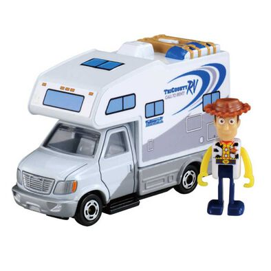 Dream Tomica Ride-on Toy Story TS-01 Woody and RV Car