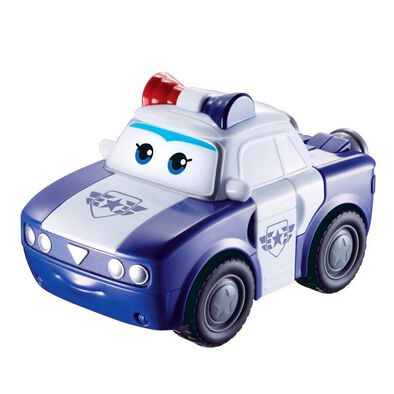 Super Wings Transforming Police Kim