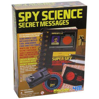 4M KidzLabs Spy Science Secret Messages