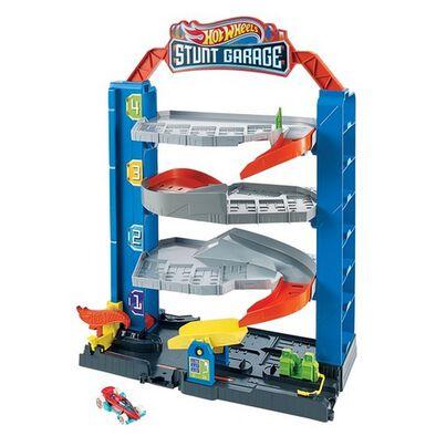 Hot Wheels Stunt Garage Play Set