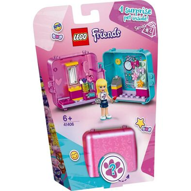 LEGO Friends Stephanie's Shopping Play Cube 41406