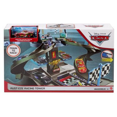 Disney Pixar Cars Aust-EZE Racing Tower Playset