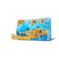 Aqua Creatures Shark Squirterz & Swim Mask Set Blue