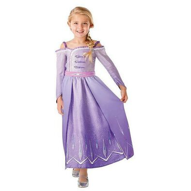 Rubies Disney Frozen 2 Elsa Prologue Dress S