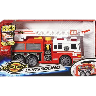 Fast Lane Fire Truck With Lights and Sounds