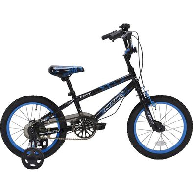 Kent 18 Inch Wired Black/Blue Boys Bike