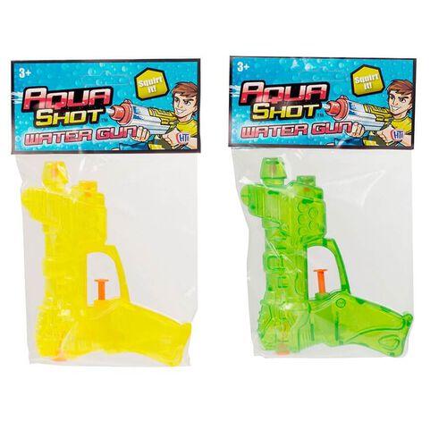 Aqua Shot Water Gun - Assorted