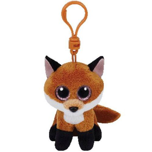 Ty Beanie Boos 5 Inch Clip Slick The Brown Fox