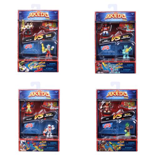 Akedo Series 1 Wave 1 Versus Pack - Assorted