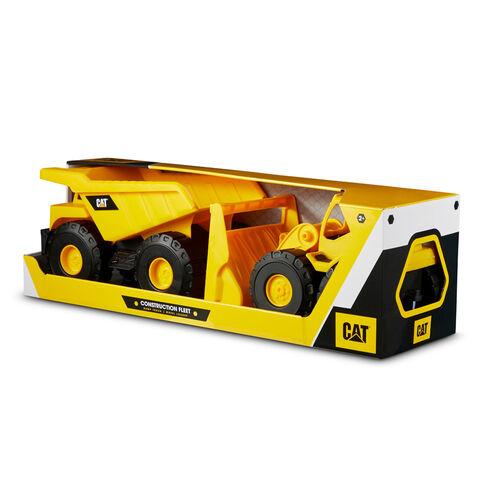 Cat Construction Fleet 10 Inch Vehicle 2 Pack